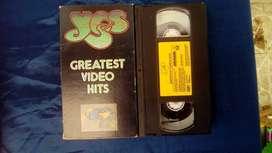Asombrosos VHS originales de ROCK para coleccionistas y melómanos