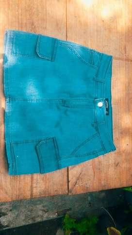 Pollera de Jeans.