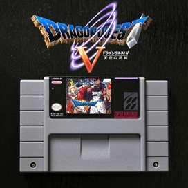 Juego DRAGON QUEST 5 para Super Nintendo SNES