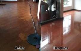 LIMPIEZA DE PISOS LAMINADOS