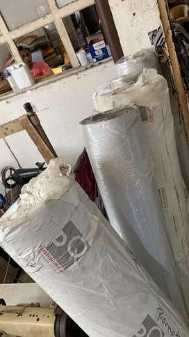 Rollos de material sintetico bravia para la tapiceria