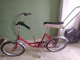 Bicicleta monareta clásica
