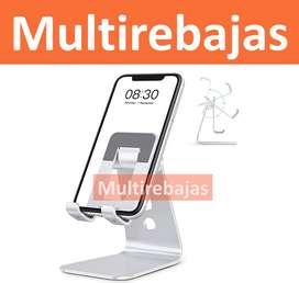 Soporte Base-escritorio - Porta Celular-tablet