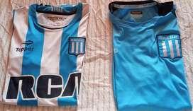 Feria americana.Camiseta y remas Racing club.Originales.Talle XXL