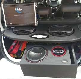 planta de sonido para carro