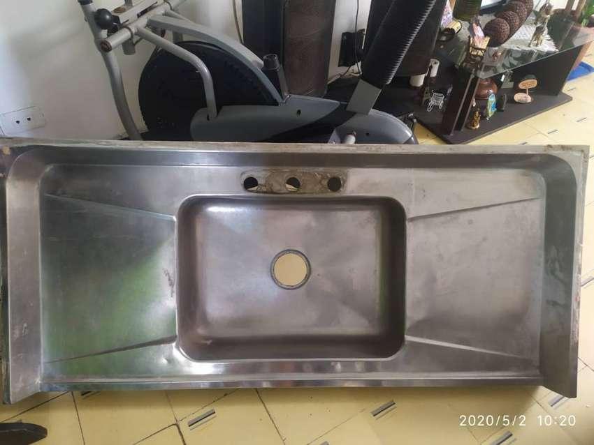 Lavaplatos en acero inoxidable 0