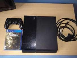 PlayStation 4 500gb + 1 joystick + juegos
