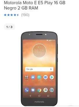 Célular Motorola e 5play