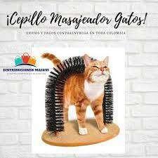 Rascador En Arco Masajeador Cepillo Gatos,rascador Para Gato