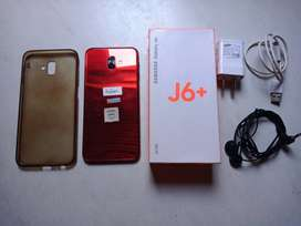 VENDO SAMSUNG GALAXY J6 PLUS COLOR ROJO DE 32GB
