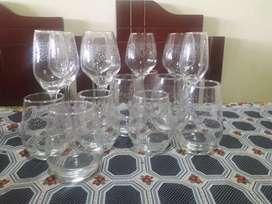 Vasos/Tumbler     Copas/goblet  Cristar