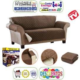 Protector Muebles Tv Sofá Couch Coat Doble Faz Mascotas Nuevos, Originales, Garantizados.