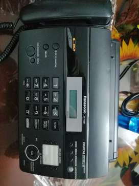 Teléfono Fax Panasonic KX-FT987