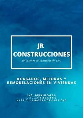 Obras civiles: JR Construcciones.