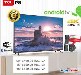 """Smartv TCL 4k 50"""" -55"""" - 65"""" ANDROID"""