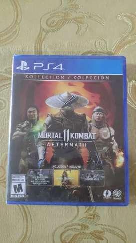 Mortal Kombat 11 : Aftermath  NUEVO/SELLADO