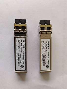 VENTA DE 2 SFP 10GB FINISAR FTLX8574D3BCL