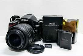 Nikon D5100 18-55mm Vr Kit Dslr Color Negro - 38mil Disparos