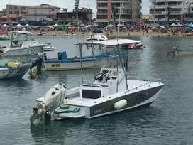 Hermoso bote, ideal para paseo o pesca