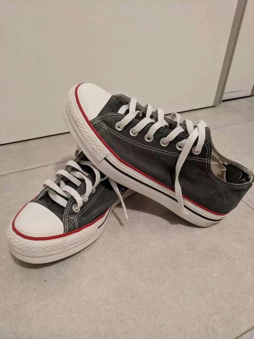 Zapatillas converse con plataforma 0