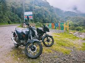 Vendo moto honda cb125 por falta de uso