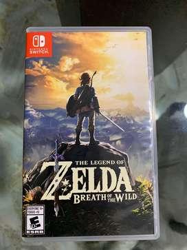 Zelda breath of the wild como nuevo