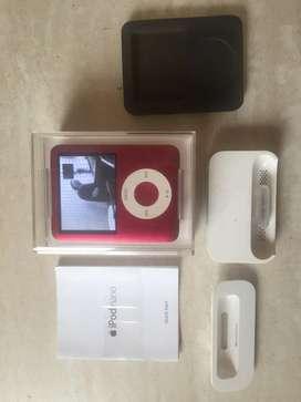 iPod Nano Red 8gb