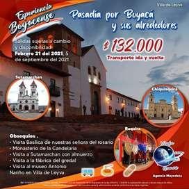 Tour por Boyacá