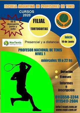 Profesorado de Tenis