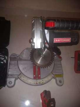 Trozadora para aluminio y madera con dos discos