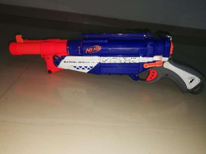 Pistola Nerf de Doble Cañón 0