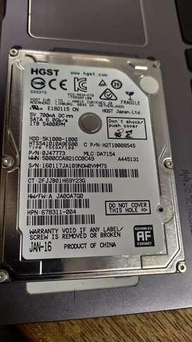 Disco duro Hgst 1Tb 5400 Rpm