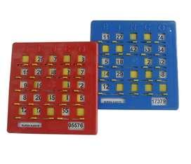 Tablas De Bingo Profesionales Plasticas
