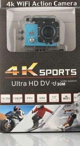 4K Sports Uktra Hd 16Mp 30Metros