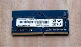 memoria ddr4 para portatil de 4 gigas
