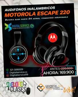 Audifonos Bluetooth Inalámbricos MOTOROLA ESCAPE-220