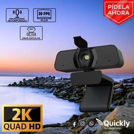 Webcam 2k - 4mpx - 30fps
