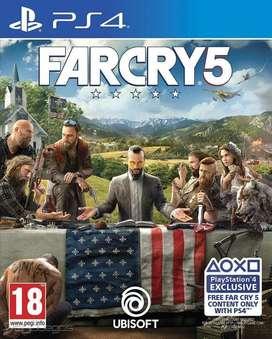 Far Cry 5 Playstation 4 Ps4, Físico Steelbook Edition