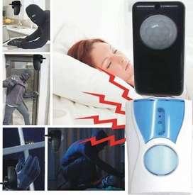 Timbre Alarma Sensor Movimiento Suena A 30m 220v L$