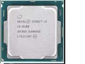 vendo pc gamer, procesador i3 8100, mather asus prime B360m-a, fuente smart 600w 80 plus, ballistix 8 gb ram,