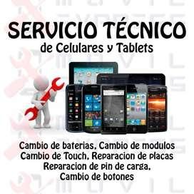 Servicio Tecnico Celulares  Tablet