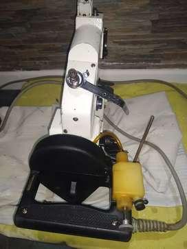 Máquina coser lona y alpillera  eléctrica y manual