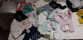 Lote ropa para bebe de 0 a 3 meses