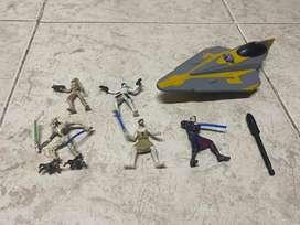 Set de figuras de Star Wars