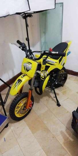 Moto Lamborbini Tipo Cross Para Niños Motor 2 Tiempos