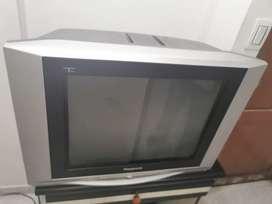 "Televisor  estéreo panasonic 21"""