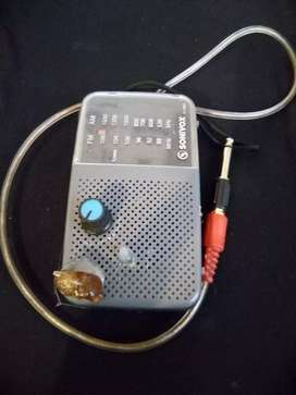 Micrófono electromagnético.