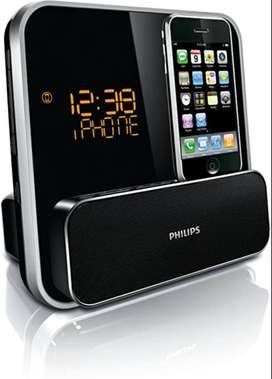 DOCKING PHILIPS RADIO FM PARLANTE IPOD IPHONE