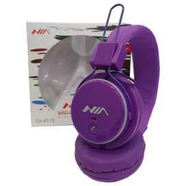 Audífonos/Diadema NIA Inalámbrica Bluetooth