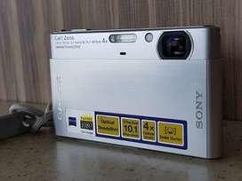 Sony Cibershot DSC-T77 10 mp, cámara digital, plateada
